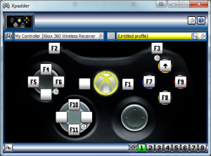 xpadder for xbox 360
